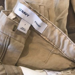 Old Navy Bottoms - Pair of Boys Old Navy Khaki Chino Pants